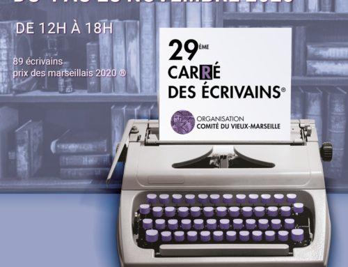 29 ème CARRE DES ECRIVAINS NOVEMBRE 2020 (Annulé)