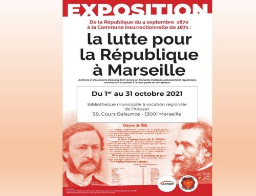 « De la révolution du 4 septembre à la Commune Insurrectionnelle : le combat pour la République à Marseille (1870-1871)