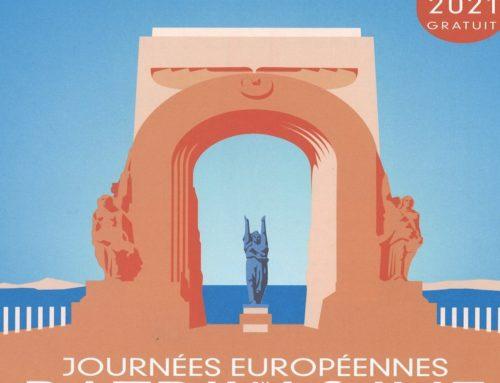 LES JOURNEES EUROPEENNES DU PATRIMOINE 18 et 19 SEPTEMBRE 2021